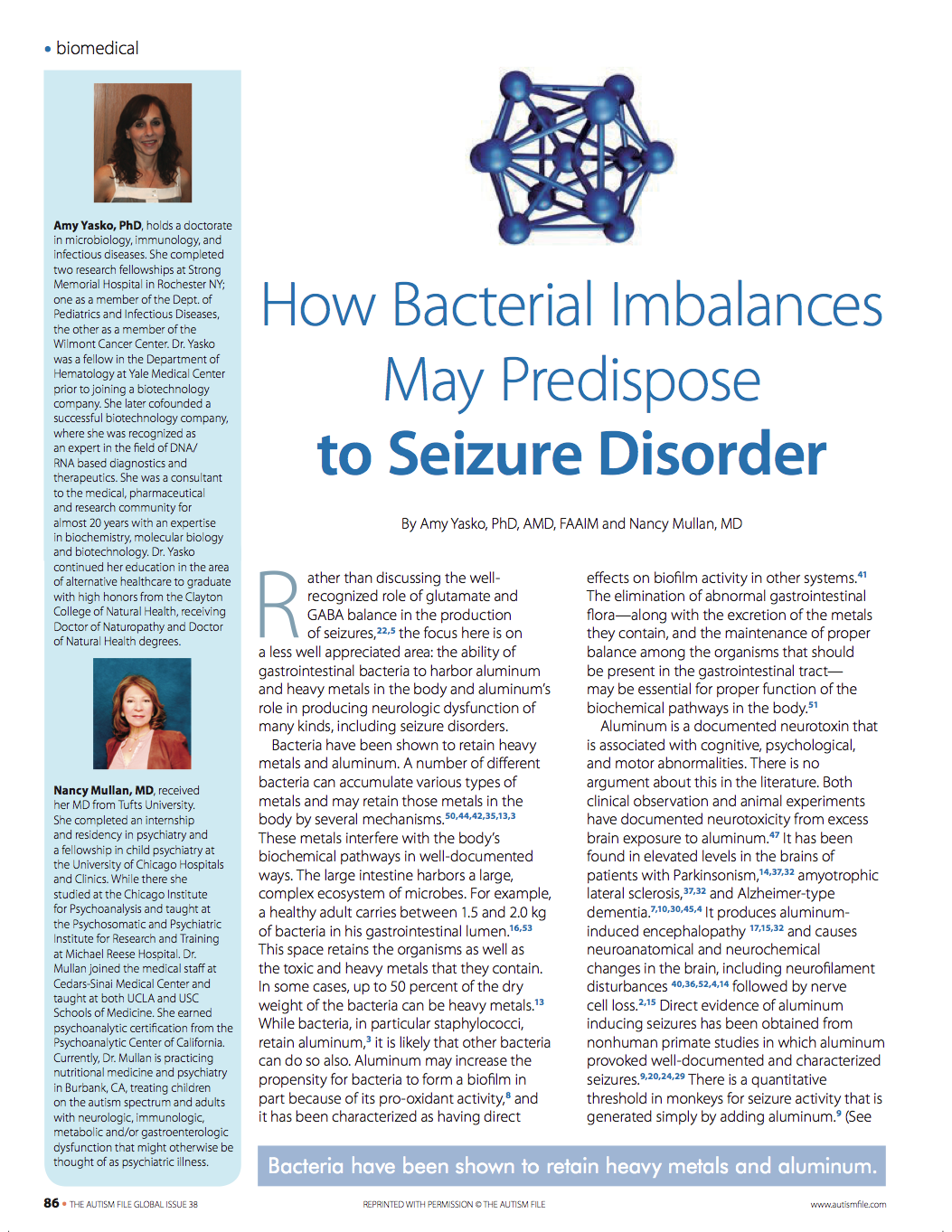 How Bacterial Imbalances May Predispose to Seizure Disorder